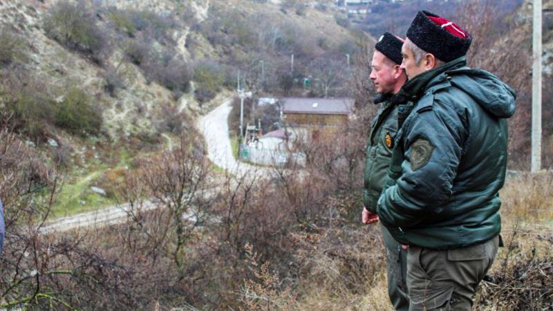 В Крыму казаки следят за соблюдением режима самоизоляции (+видео)