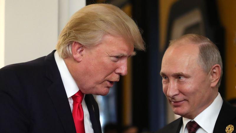 Путин и Трамп выпустили совместное заявление по случаю 75-й годовщины встречи на Эльбе