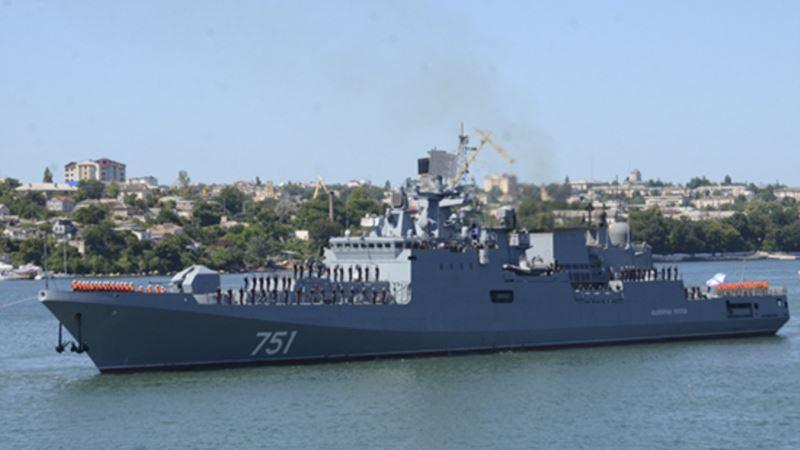 Севастополь: российские фрегаты находятся на двухнедельном карантине