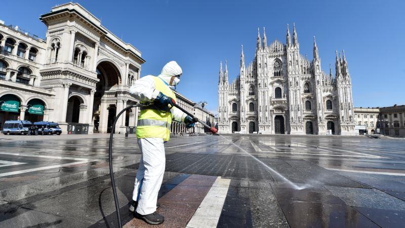 В Италии фиксируют наименьшее количество смертей от коронавируса за последние две недели
