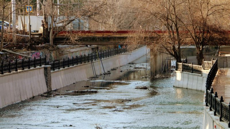 Мосты и мостики Салгира (фотогалерея)