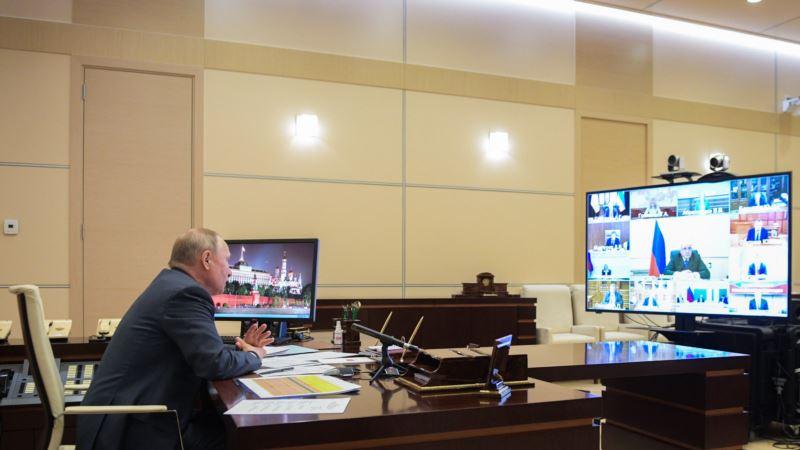 Путин: Ситуация с коронавирусом в России осложняется