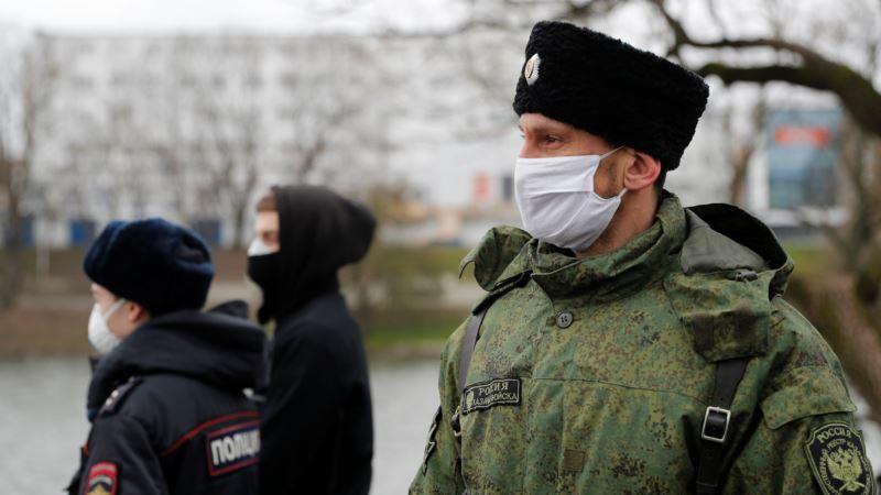 Алушта: казаки и российская полиция будут патрулировать кладбища