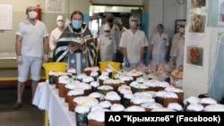 В цехах «Крымхлеба» освятили пасхальную выпечку (+фото)