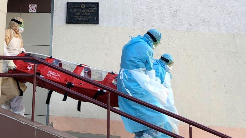 Беларусь обогнала Украину по заболеваемости COVID-19
