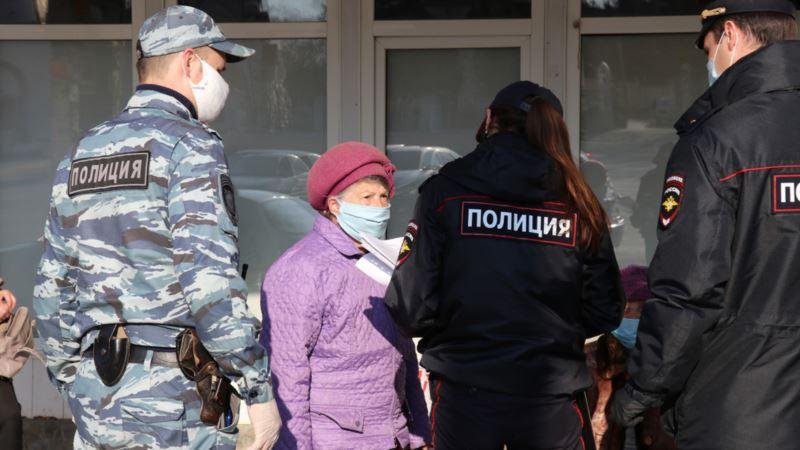 В Феодосии пенсионерам угрожают штрафами из-за нарушения режима самоизоляции (+фото)