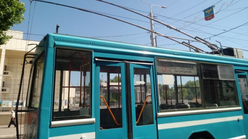 В Керчи с 3 апреля не будут ходить троллейбусы