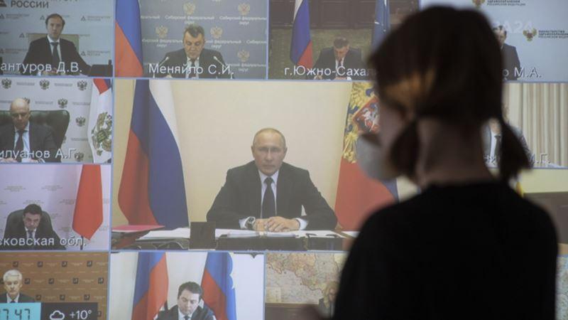 Почти половина россиян не одобряют антивирусные меры Путина – опрос