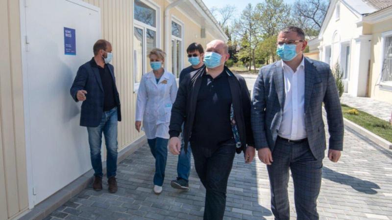 Севастополь: власти сообщили о завершении строительства нового корпуса инфекционной больницы (+фото)