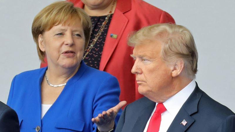 Меркель отклонила приглашение Трампа на саммит G7 в Вашингтоне