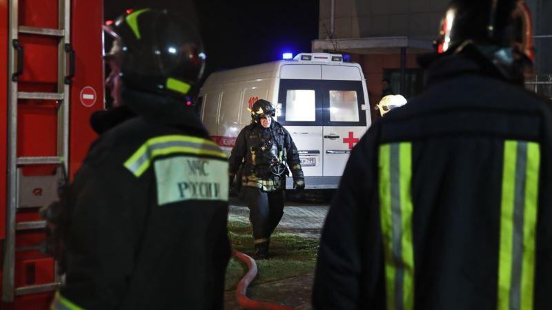 На пожаре в российском хосписе погибли десять человек – СМИ