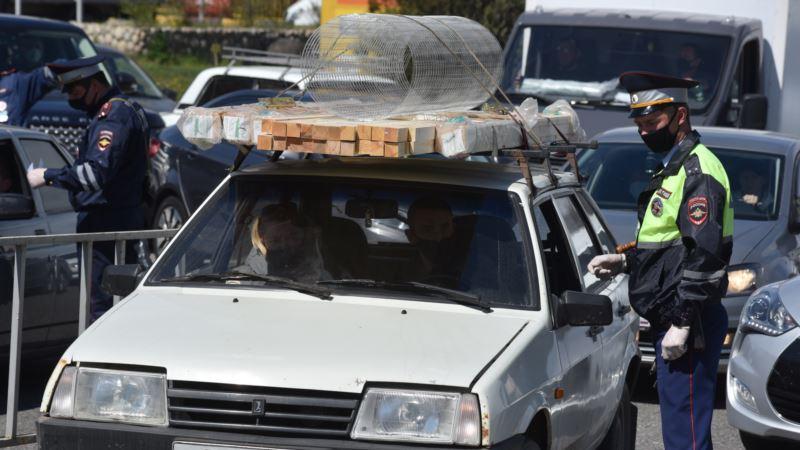 В Ялте автоугонщик из России сбил российского полицейского – МВД