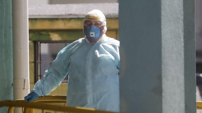 В Севастополе строитель российского военного госпиталя заболел COVID-19