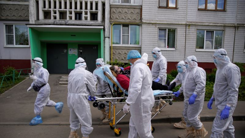 Россия: количество инфицированных коронавирусом превысило 400 тысяч