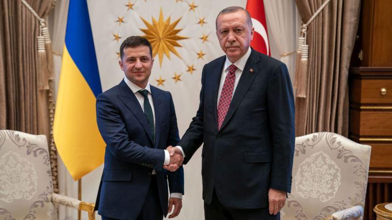 Зеленский и Эрдоган обсудили строительство жилья для крымских татар на Херсонщине