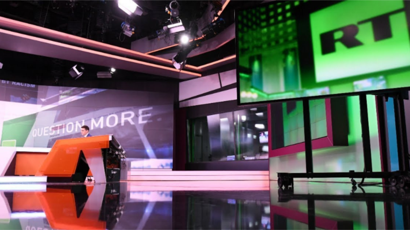 Латвия запретила вещание семи телеканалов RT