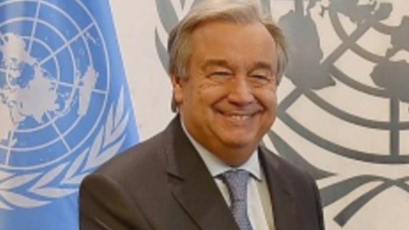 Украина поблагодарила Генсекретаря ООН за заявление о непризнании аннексии Крыма (+видео)