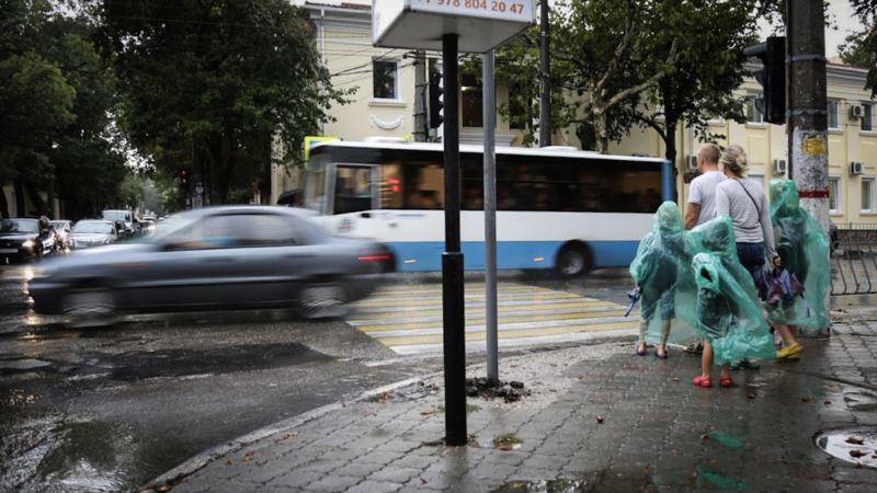 В Крыму прогнозируют дожди с грозами, местами град