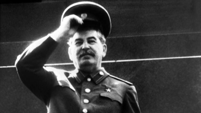 В Нижегородской области России установили памятник Сталину (+видео)