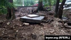 Грязевой сель и мусор в море: последствия ливня в Севастополе (+фото)