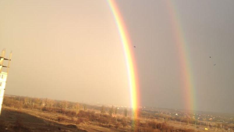 Погода в Крыму: кратковременный дождь, местами гроза
