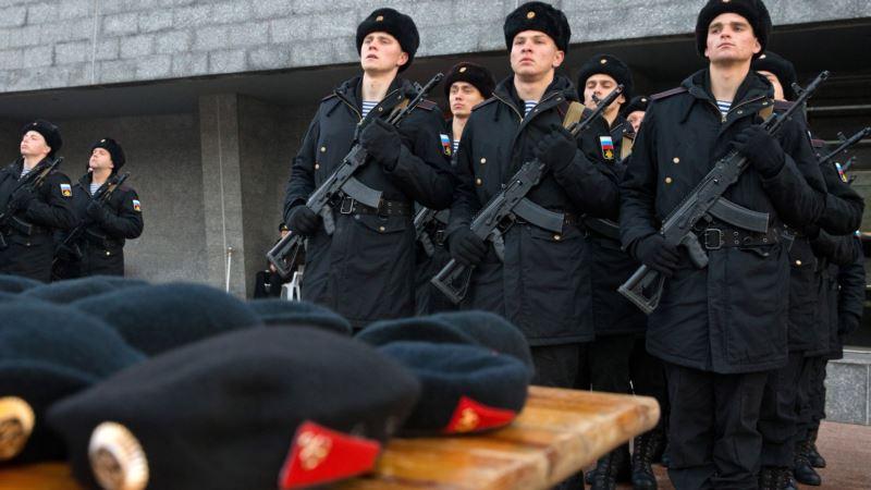 Украина требует прекратить призыв крымчан в российскую армию