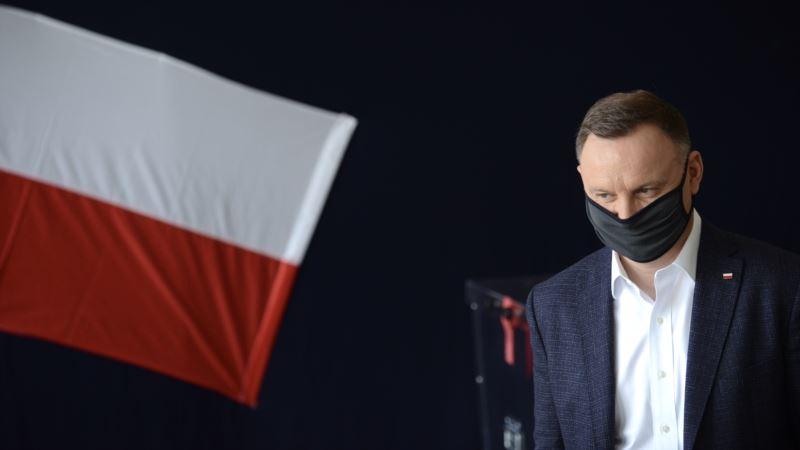 Экзит-пол: в Польше будет 2-й тур президентских выборов