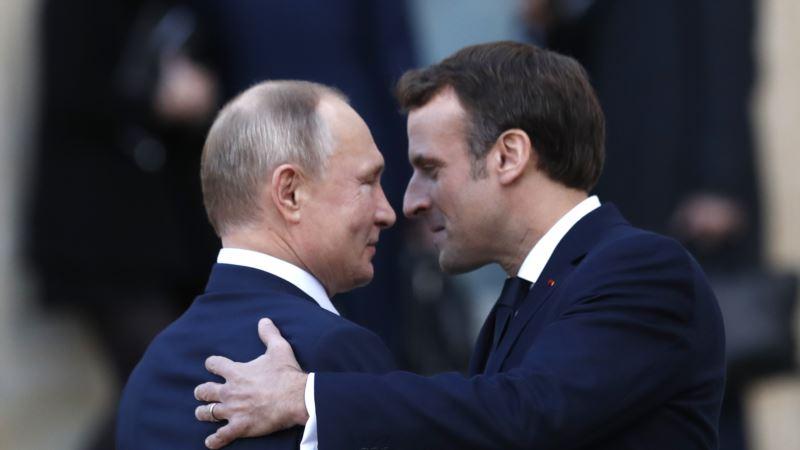 Путин и Макрон обсудили возможность прогресса в отношениях России и Запада