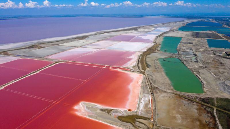 Розовые горизонты. Путешествие на озеро Сасык-Сиваш (фотогалерея)