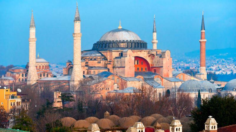 Суд в Турции разрешил снова превратить в мечеть собор Святой Софии