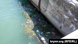 После шторма в Севастополепоявились «мусорные острова» (+фото)