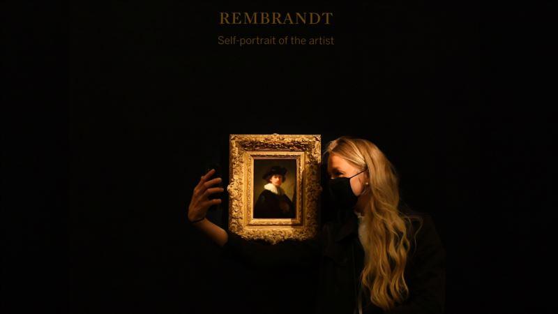 На аукционе Sotheby's автопортрет Рембрандта продали за 14,5 млн фунтов