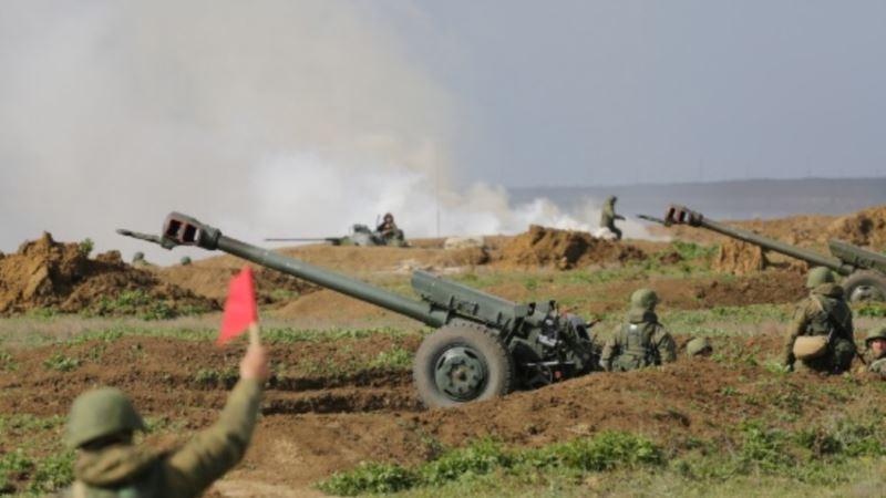 Российские военные планируют провести боевые стрельбы под Симферополем