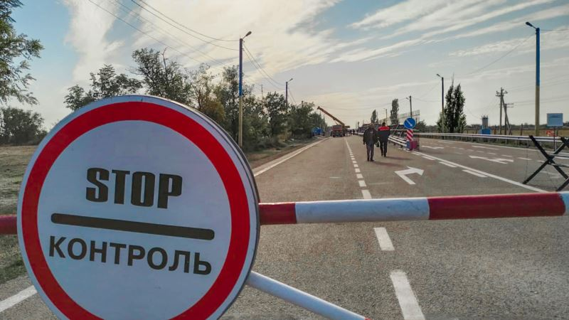 Украинские депутаты проверили защиту админграницы от возможного вторжения России из Крыма