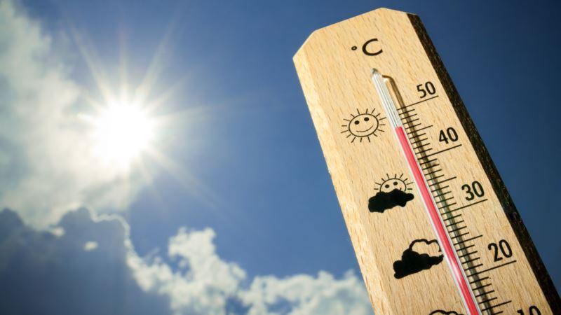 В Крыму сообщают о новом температурном рекорде в Симферополе
