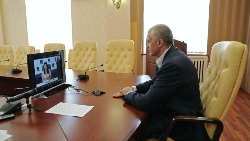 Аксенов просит Москву решить проблему орошения земель в Крыму