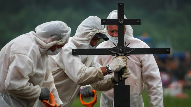 В России от COVID-19 умерли более 10 тысяч человек