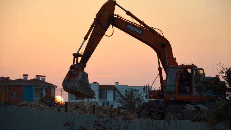 Севастополь: дома для российских военных строили без разрешений