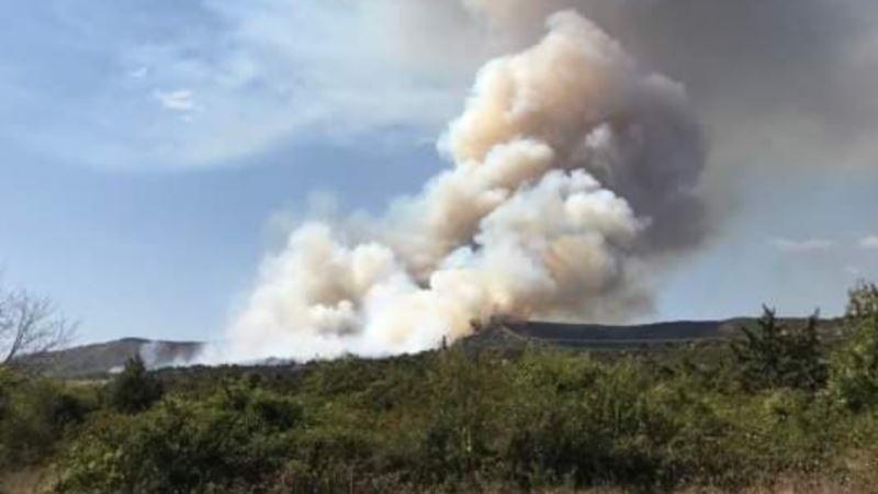 В Крыму снова предупреждают о чрезвычайном риске пожаров