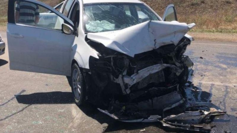 ДТП на трассе Саки – Орловка: пострадали четыре человека