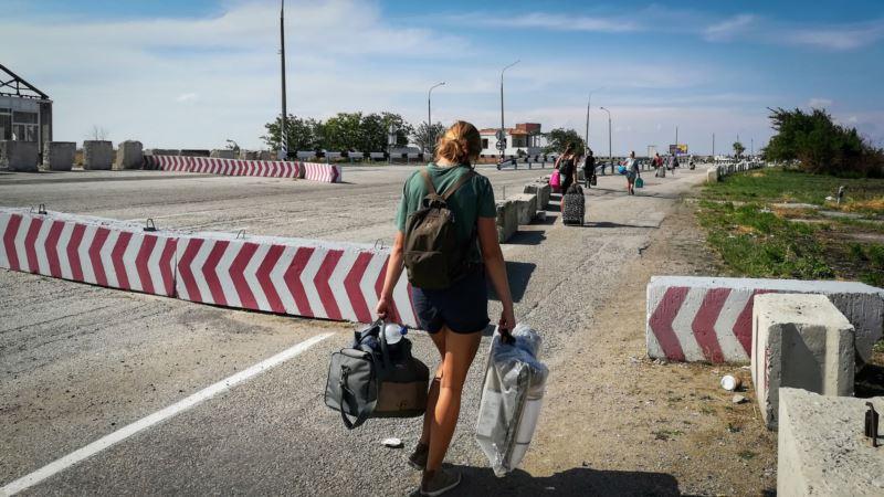 Представительство президента Зеленского просит крымских абитуриентов сообщать о трудностях на админгранице