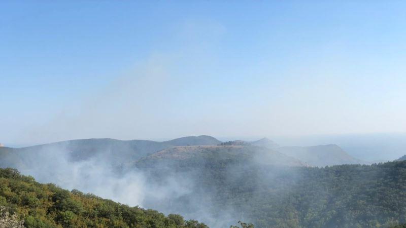 В Крыму произошло 140 пожаров за неделю – спасатели