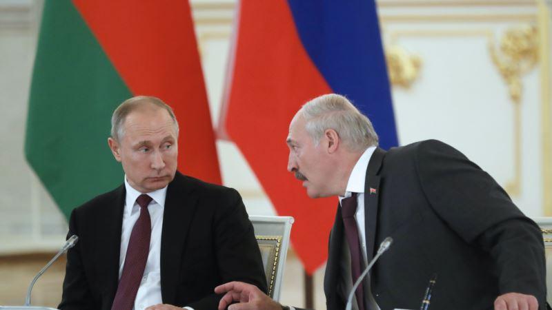 Лукашенко и Путин договорились испытать российскую вакцину от коронавируса на белорусах