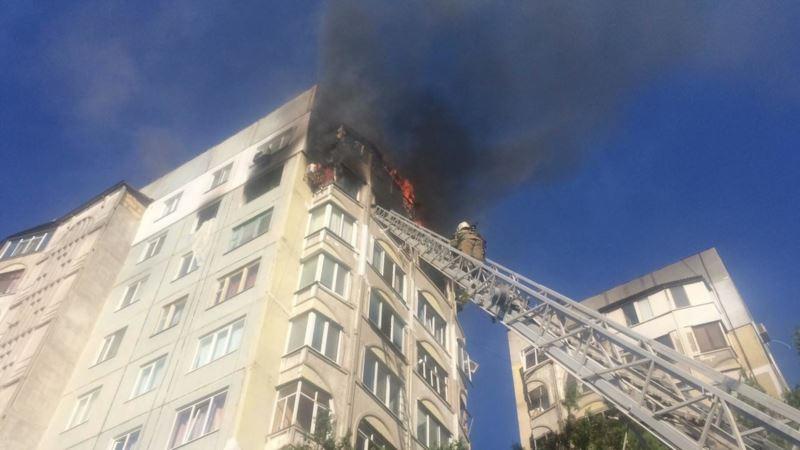 Керчан разрешили пустить в квартиры, разрушенные от взрыва и пожара – власти