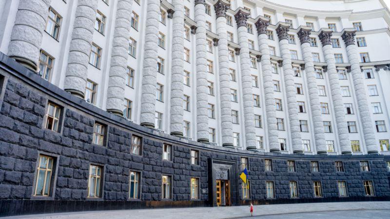 Кабмин Украины обсудит ситуацию с COVID-19 в Крыму