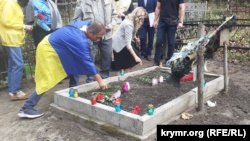В Киеве почтили память крымчан-защитников Украины (+фото)