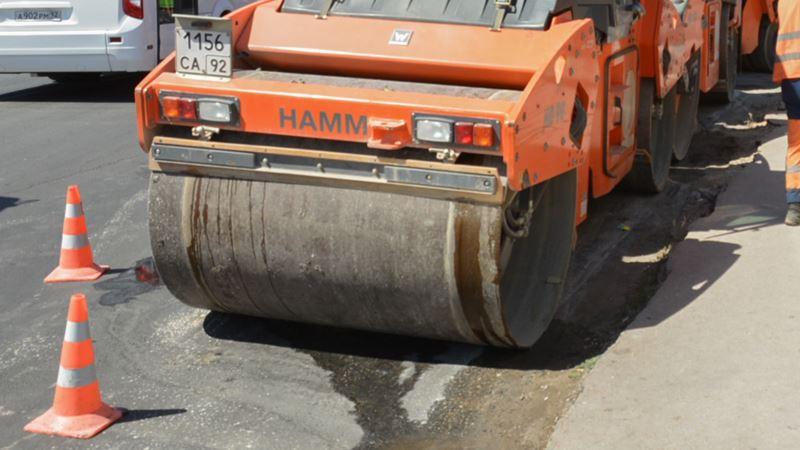 В Крыму ремонтируют дорогу на гору Клементьева (+фото)