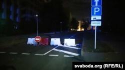 На въезде в Минск стоят военные и ГАИ (+фото)