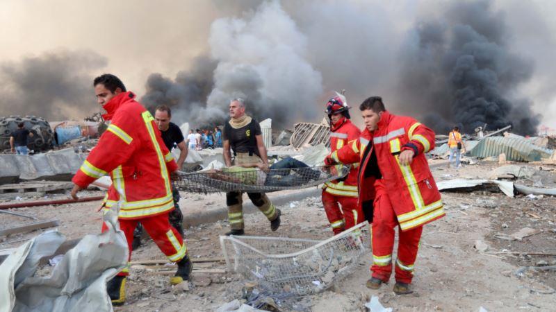 США начали поставку гуманитарной помощи в Ливан