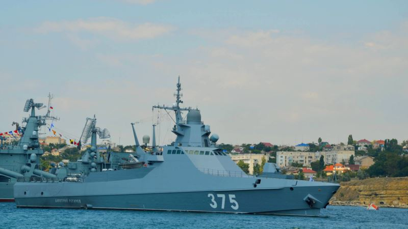 Корабли Черноморского флота России вернулись на базы после учений в море около Севастополя – российское командование